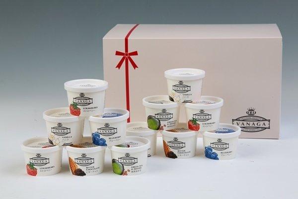 画像1: VANAGA12個入り(スーパープレミアムアイスクリーム)冷凍 (1)